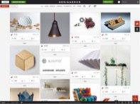 Globální online galerie a maketplace design