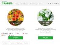 Největší online zahradnictví v ČR (eshop +  web)