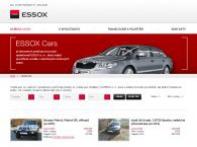 Přehledný firemní web pro Essox s.r.o.